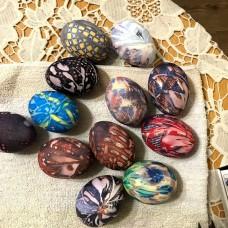 Естествена коприна за боядисване на яйца
