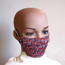 Маска за лице от естествена коприна 10