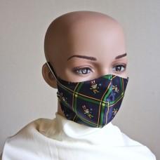 Маска за лице от естествена коприна 12