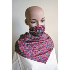 Маска-шал от естествена коприна 14