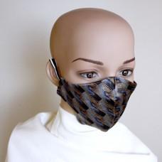 Маска за лице от естествена коприна 17