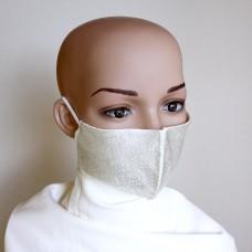 Маска за лице от естествена коприна 18