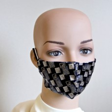 Маска за лице от естествена коприна 22