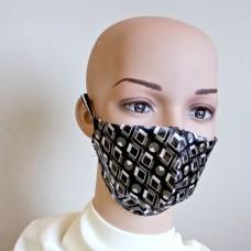 Маска за лице от естествена коприна 24