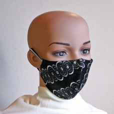 Маска за лице от естествена коприна 7